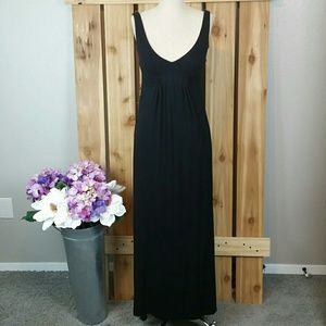 CAbi Black Long Maxi Dress